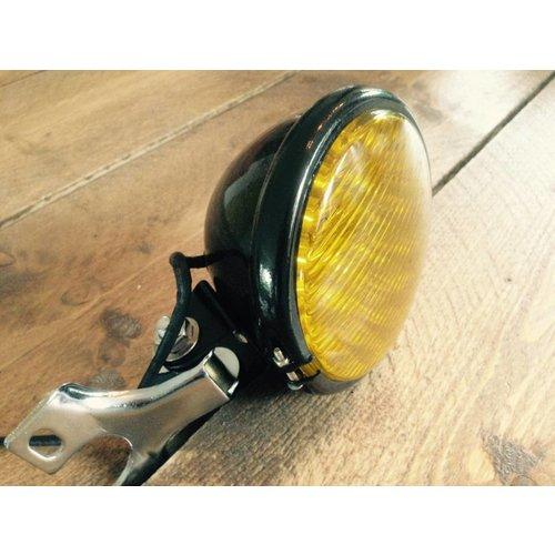 """MCU 5"""" Oldskool  Koplamp Black & Yellow"""