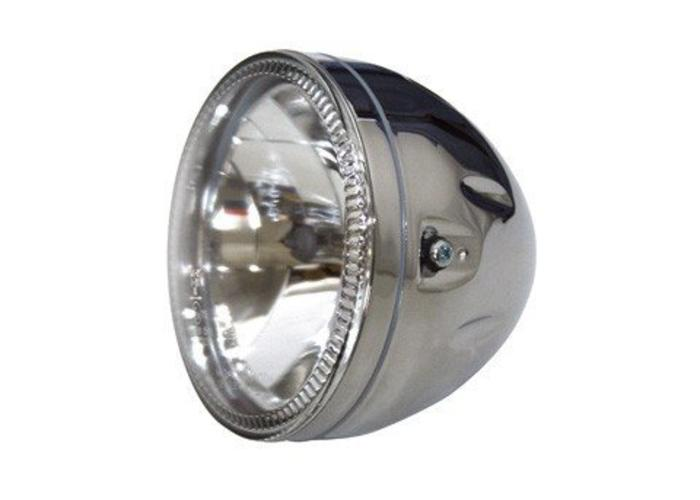 "Highsider 5.75"" Koplamp Chroom met LED Ring Halo"