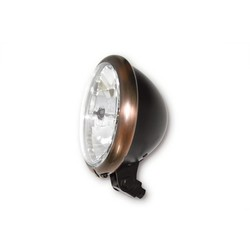 5.75 '' Headlight Copper & Black, E-Mark