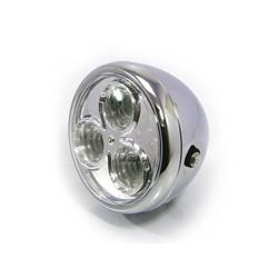 "6.75 ""Chrome Projector Chopper Headlight"