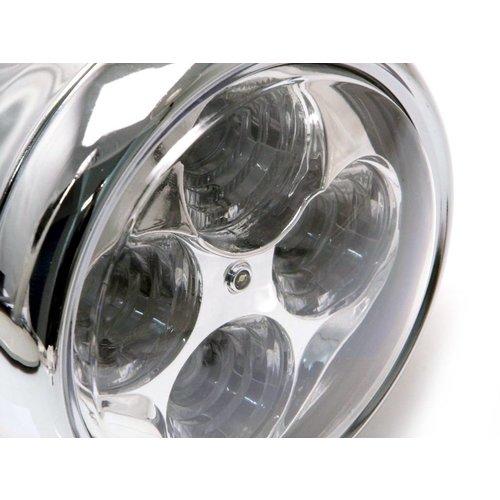 "5.5"" 4 LED Projector Koplamp Chrome"