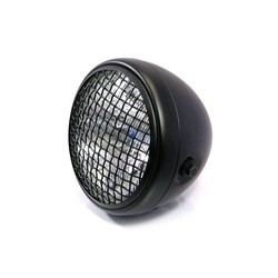 "7"" Scrambler Headlight Matt Black Extra Large"