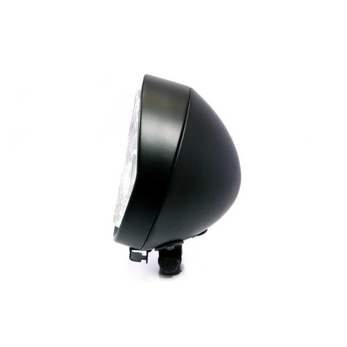 "5.9"" Flat Koplamp Bottom Mount Zwart"