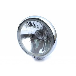 "5.75 ""Chopper Headlight Chrome Universal"