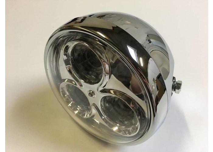 """6.75"""" Cyclops Koplamp Chrome Type 2"""