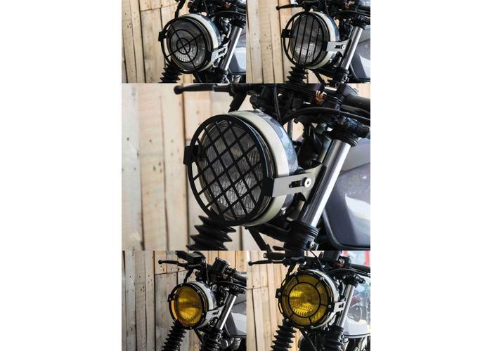 C.Racer Koplampscherm Grid