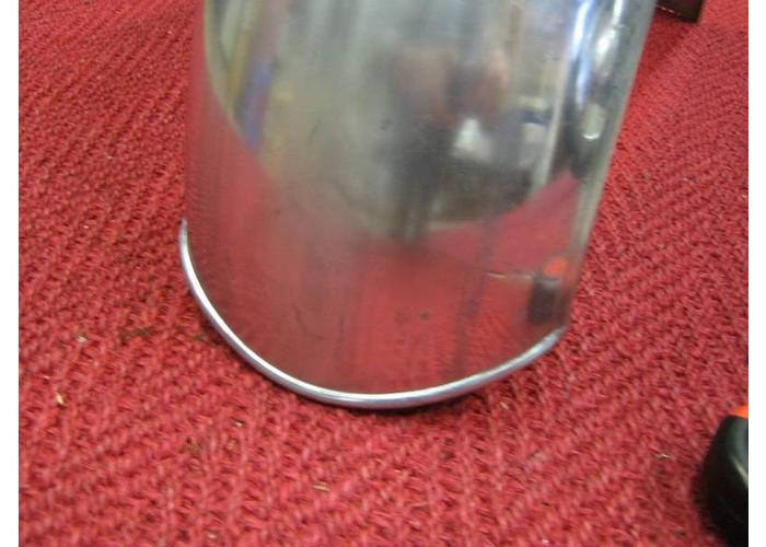 MCU Spatbord Bobber Staal 160x675mm
