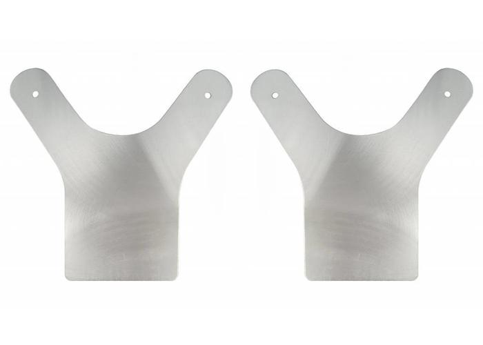 MCU Set Aluminium Spatbord Steunen Universeel