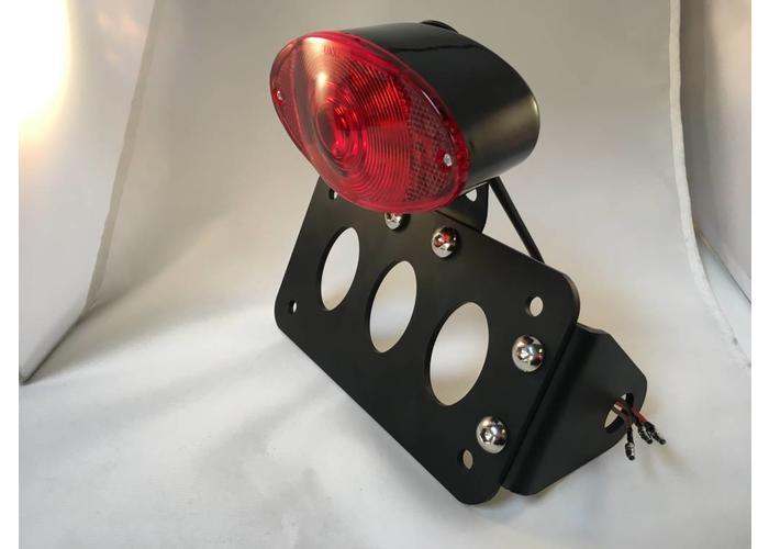 MCU Sidemount + Verlichting Type Oval Black