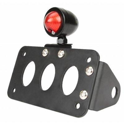 """MCU Support de plaque noir + éclairage type """"Bullet"""""""