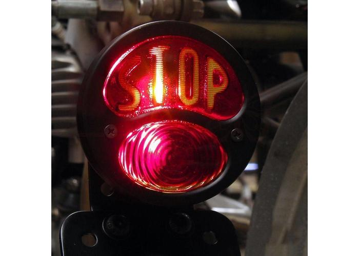 MCU Sidemount + Verlichting Type Vintage Stop