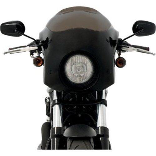 Memphis Shades  Bullet Stroomlijn HD V-Rod (VSRC) Zwart