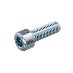 Vis creuse en acier galvanisé M6x14mm