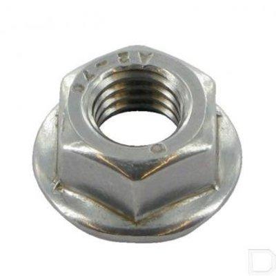 M8 Stainless Steel Flangenut