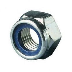 M6 Galvanized Lock Nut M6