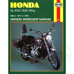 Repair Manual HONDA GL1000 GOLD WING (75 - 79)