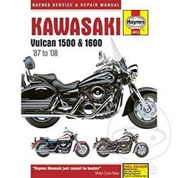 Manuel de réparation KAWASAKI VULCAN 1500/1600 (87-08)