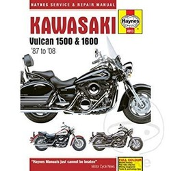 Repair Manual KAWASAKI VULCAN 1500/1600 (87-08)