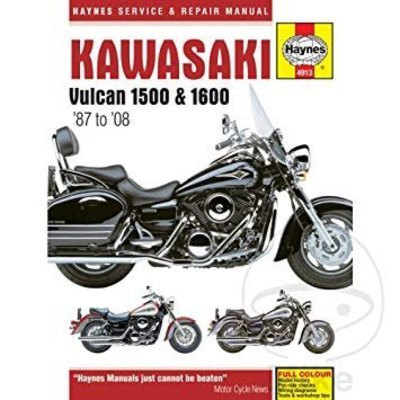 Haynes Repair Manual KAWASAKI VULCAN 1500/1600 (87-08)