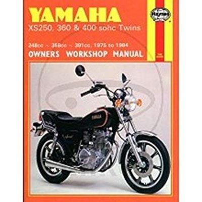 Haynes Manuel de réparation YAMAHA XS250, 360 & 400 SOHC TWINS 1975 - 1984