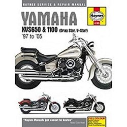 Reparatur Anleitung YAMAHA XVS650 & 1100 DRAG STAR (97-05)