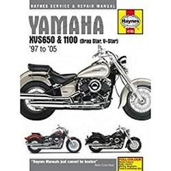 Werkplaatshandboek YAMAHA XVS650 & 1100 DRAG STAR (97-05)
