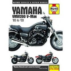 Werkplaatshandboek YAMAHA V-MAX 1985 - 2003