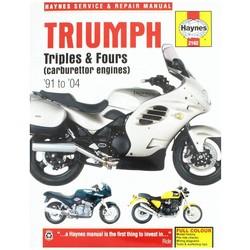 Reparatur Anleitung TRIUMPH TRIPLES AND FOURS