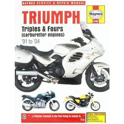 Haynes Manuel de réparation TRIUMPH TRIPLES AND FOURS