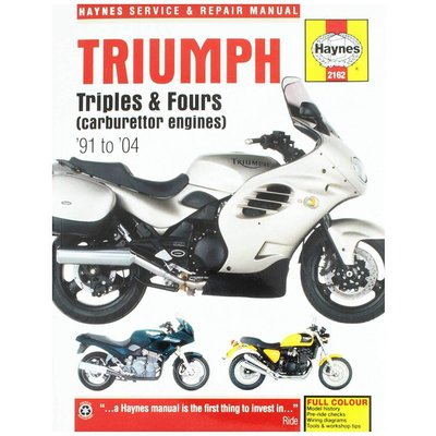 Haynes Repair Manual TRIUMPH TRIPLES AND FOURS