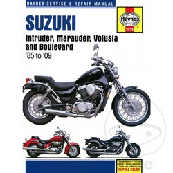 Repair Manual SUZUKI INTRUDER MARAUDER VOLOSIA