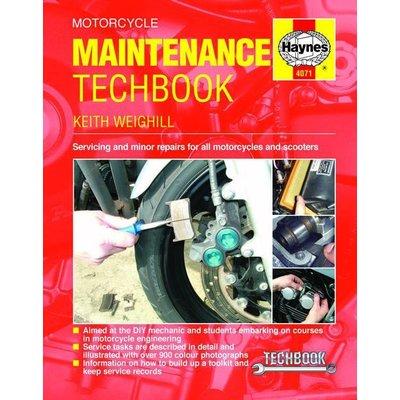 Haynes Repair Manual MOTORCYCLE MAINTENANCE TECHBOOK