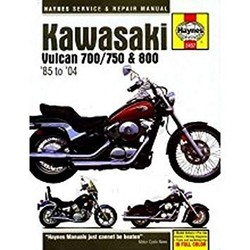 Repair Manual KAWASAKI VULCAN 700/750 & 800 1985 -2004