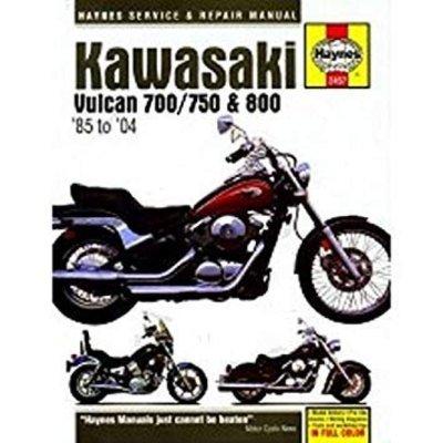 Haynes Manuel de réparation KAWASAKI VULCAN 700/750 & 800 1985 -2004