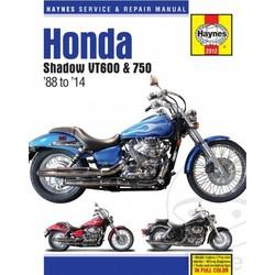 Repair Manual HONDA Shadow VT600 & 750 88-14
