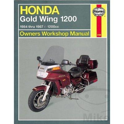 Haynes Repair Manual HONDA Goldwing 1200 1984 - 1987 1200CC