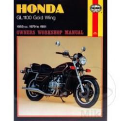 Werkplaatshandboek HONDA GL1100 Gold Wing 1979 - 1981