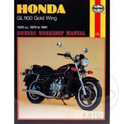 Haynes Repair Manual HONDA GL1100 Gold Wing 1979 - 1981