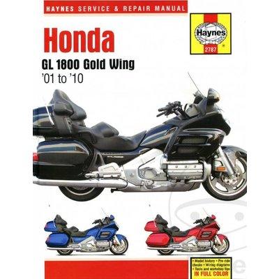 Haynes Repair Manual HONDA GL 1800 Goldwing 01-10