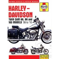 Werkplaatshandboek HARLEY DAVIDSON Twin Cam 88, 96-103 Models 99-10
