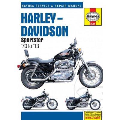 Haynes Repair Manual HARLEY DAVIDSON Sporster 70-13