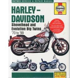 Werkplaatshandboek HARLEY DAVIDSON BIG TWINS 1970-99