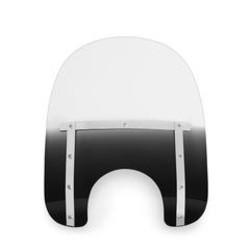 "Small windscherm 'Night shades' zwart (15""&17"")"