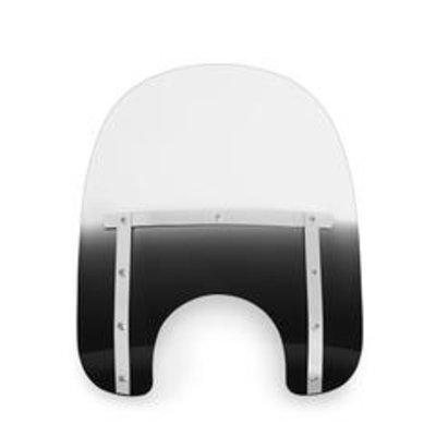 """Memphis Shades  Small windscherm 'Night shades' zwart (15""""&17"""")"""