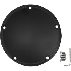 Derby Cover plat zwart HD Twincam1 6-20 ,; 2015 FLHTCUL, FLHTK; 07-15