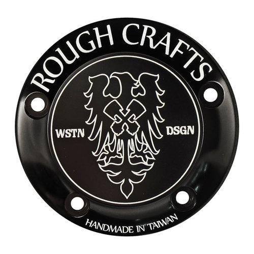 Rough Craft 99-17 Twin Cam Rough Craft zwart, 5 hole
