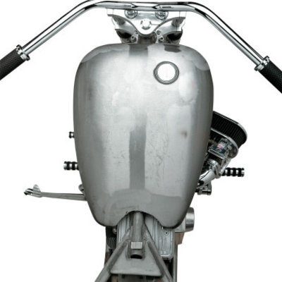 Drag Specialties One-Piece Smooth-Top Style Extended Gas Tank