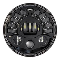 """Phare adaptatif 7"""" à LED, modèle 2 8790 noir"""