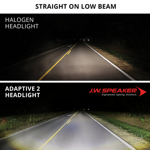 "J.W. Speaker 7 ""LED Adaptive Headlight-model 2 8790 Zwart"
