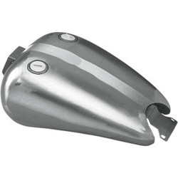 One-Piece extended gas tank dual cap FXR 83-99